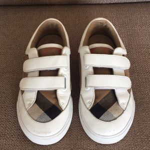 Burberry White Sneakers